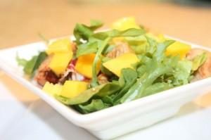 Ensalada: Pollo+Mango