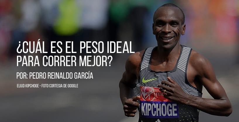 ¿Cuál es el peso ideal para correr mejor?