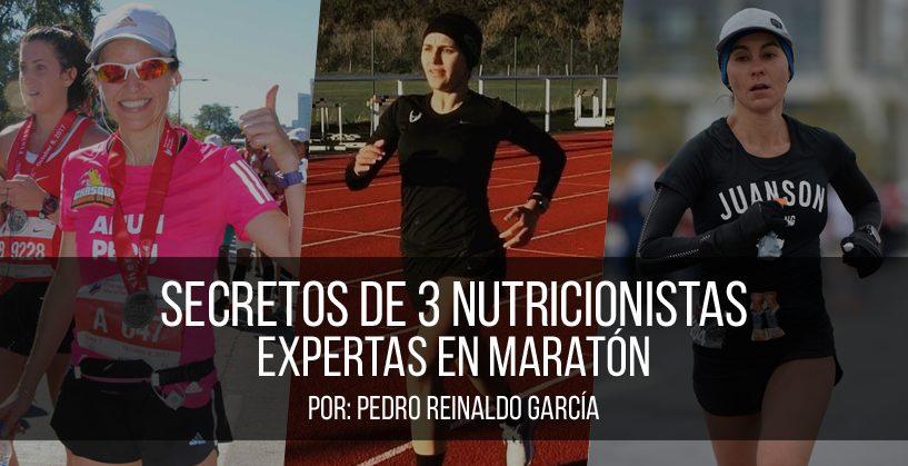 Secretos de 3 Nutricionistas Expertas en Maratón